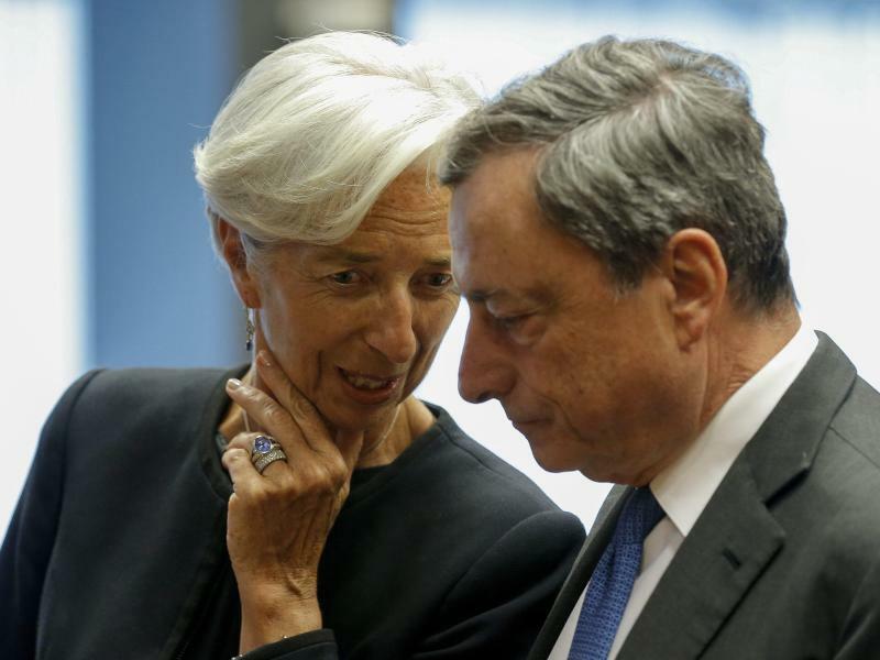 Lagarde und Draghi - Foto: Julien Warnand
