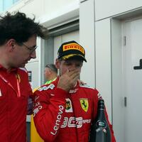 Binotto und Vettel - Foto: Photo4/Lapresse/Lapresse via ZUMA Press