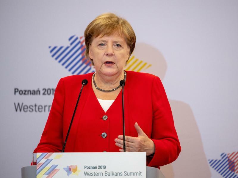 Merkel bei Westbalkan-Gipfel - Foto: Monika Skolimowska