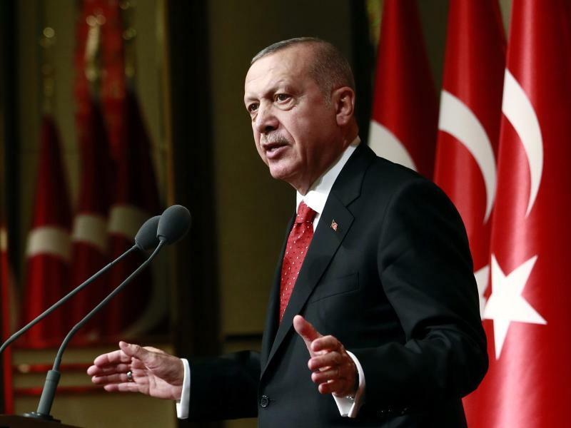 Recep Tayyip Erdogan - Foto: Uncredited/Pool Presidential Press Service/AP/Archiv