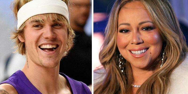 Justin Bieber und Mariah Carey - Foto: Pizzello/Clarke