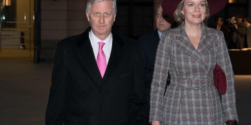 Belgisches Königspaar - Foto: Soeren Stache