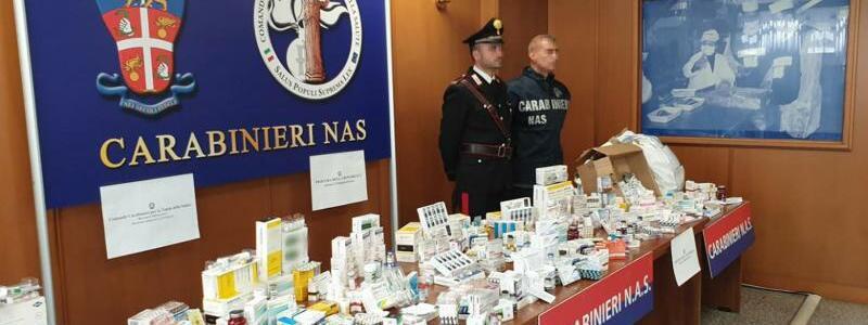 Beschlagnahmte Dopingmittel - Foto: Ufficio Stampa Comando Generale Carabinieri/dpa