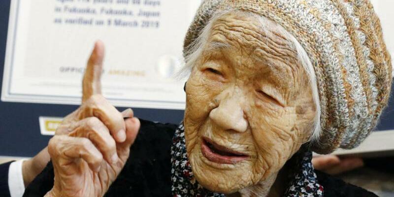 Ältester Mensch der Welt - Foto: Takuto Kaneko/Kyodo News