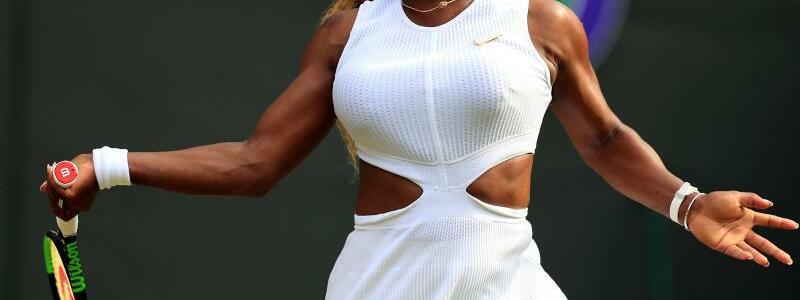 Im Halbfinale - Foto: Hat das Halbfinale in Wimbledon erreicht: Serena Williams in Aktion. Foto:Mike Egerton/PA Wire