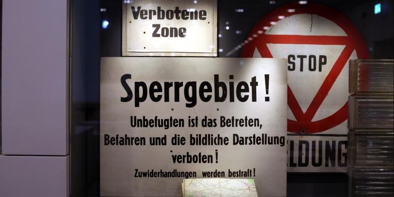 DDR-Verbotsschilder - Foto: über dts Nachrichtenagentur