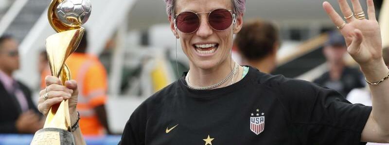 Megan Rapinoe - Foto: Kathy Willens/AP