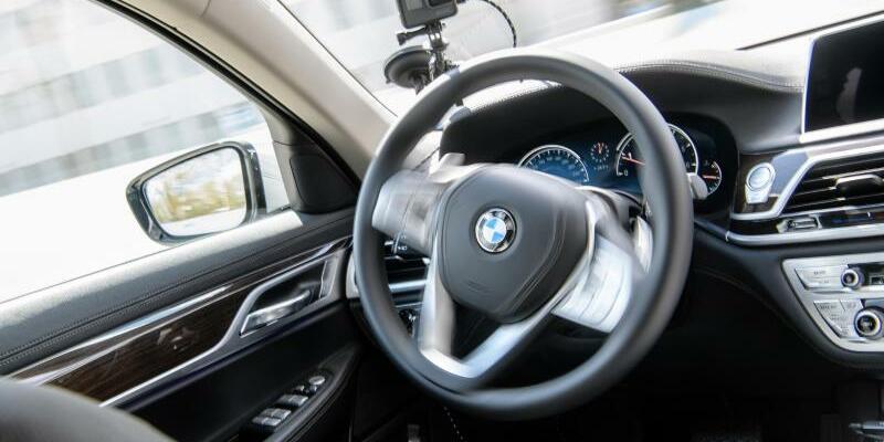 BMW - autonom fahrendes Fahrzeug - Foto: Matthias Balk
