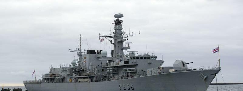 HMS Monrose - Foto: Steve Parsons/PA/Archiv