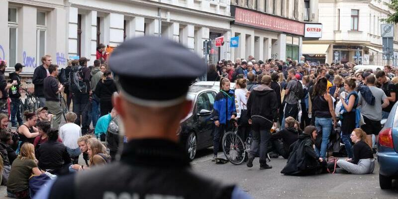 Demonstration - Foto: Sebastian Willnow
