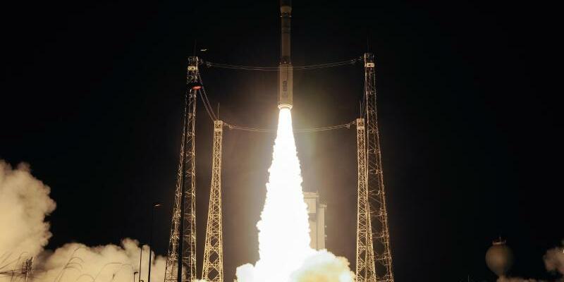 Raketenstart in Kourou - Foto: Stephane Corvaja/ESA/Archiv
