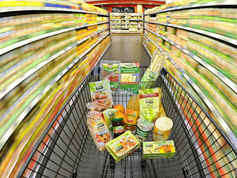 Inflation steigt im Juni auf 1,6 Prozent - Foto: Die Preise für Nahrungsmittel stiegen mit insgesamt 1,2 Prozent unterdurchschnittlich stark. Foto:Julian Stratenschulte