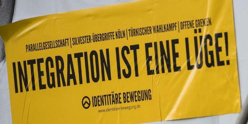 Identitäre Bewegung - Foto: Sebastian Gollnow/Archiv