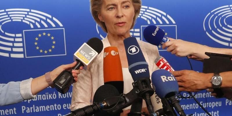 Ursula von der Leyen - Foto: Jean-Francois Badias/AP