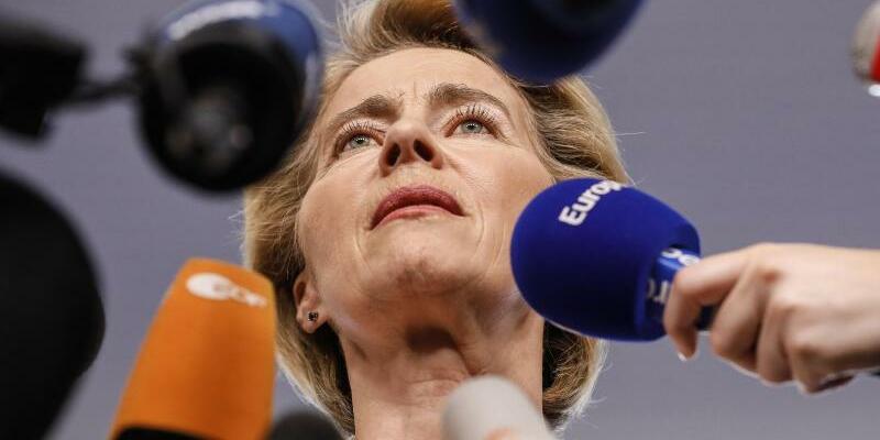 Ursula von der Leyen - Foto: Jean-Francois Badias/AP/dpa