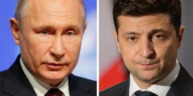 Putin und Selenskyj - Foto: Lahodynskyj/Lovetsky/The Canadian Press/AP
