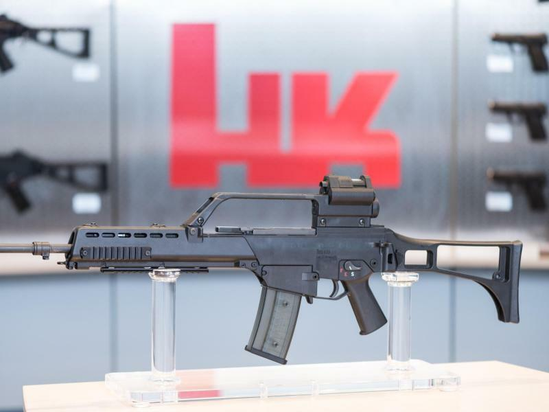 Waffenhersteller Heckler & Koch - Foto: Patrick Seeger
