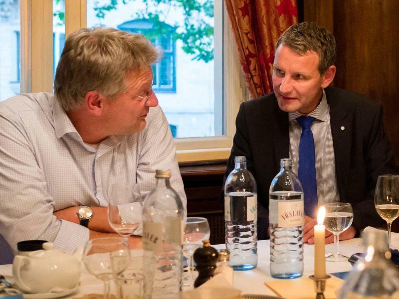 Jörg Meuthen und Björn Höcke - Foto: Gregor Fischer/Archiv