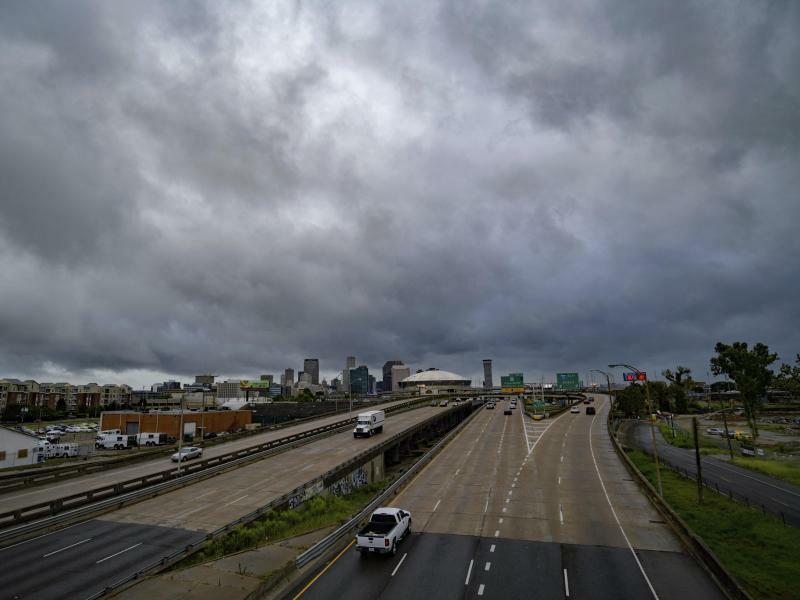 Schlechtwetterfront über Baton Rouge - Foto: Matthew Hinton
