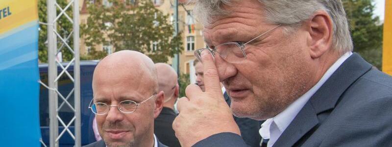 Wahlkampfauftakt - Foto: Jörg Carstensen
