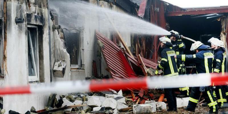 Brand in einem Saunaclub - Foto: Roland Weihrauch