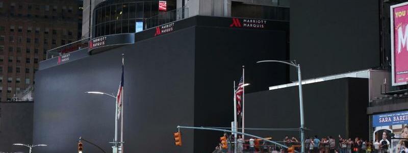Times Square ohne Strom - Foto: Michael Owens/AP