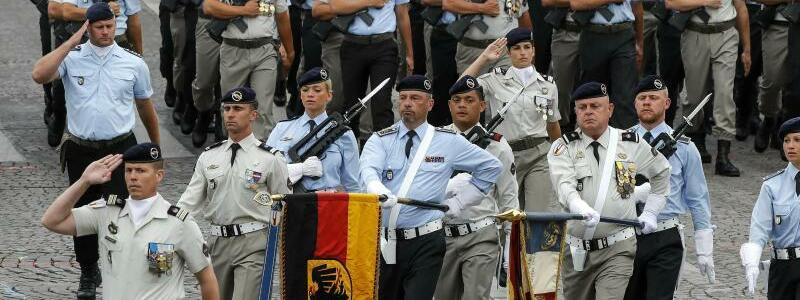 Deutsch-Französischen Brigade - Foto: Michel Euler/AP