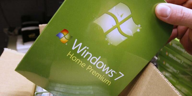 Betriebssystem Windows 7 - Foto: George Frey/EPA