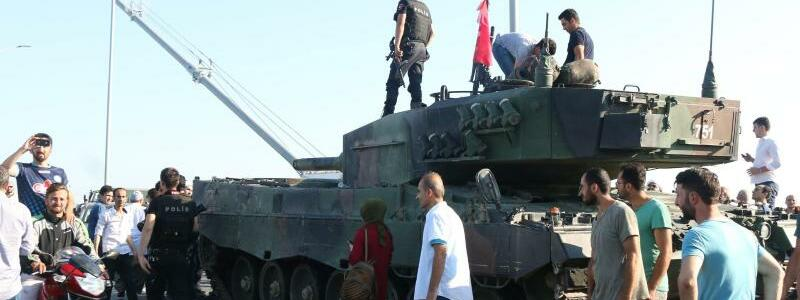 Panzer in der Türkei - Foto: str