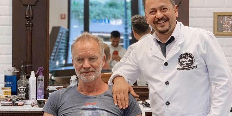 Sting - Foto: Hagi?s Barber Shop