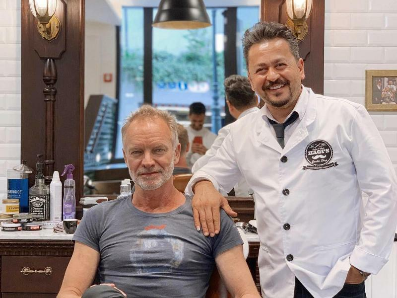 Sting - Foto: Hagi?s Barber Shop