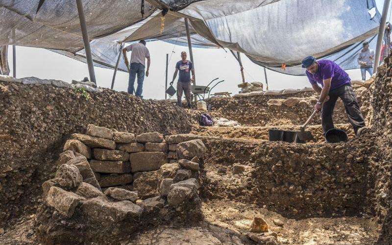 9000 Jahre alte Siedlung - Foto: Yaniv Berman/Israelische Altertumsbehörde