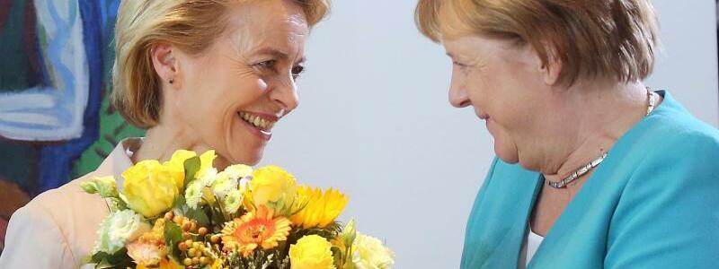 Letzter Kabinettstag für von der Leyen - Foto: Wolfgang Kumm