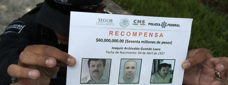 Belohnung - Foto: 60 Millionen mexikanische Pesos betrug die Belohnung für die Ergreifung von «El Chapo». Foto:Alex Cruz