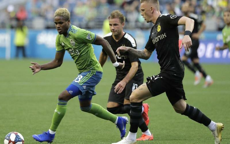 Seattle Sounders - Borussia Dortmund - Foto: Ted S. Warren/AP