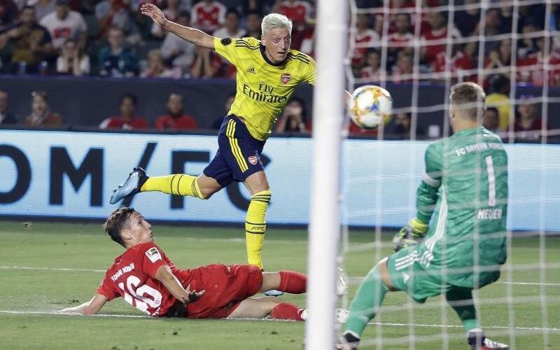 Bayern München - FC Arsenal - Foto: Marcio Jose Sanchez/AP