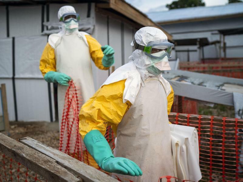 Ebola im Kongo - Foto: Jerome Delay/AP