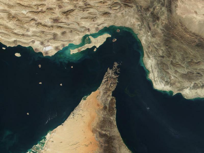 Persischer Golf - Foto: The Visible Earth/NASA