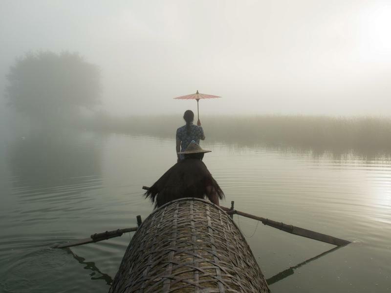 Im Nebel - Foto: Weng/XinHua