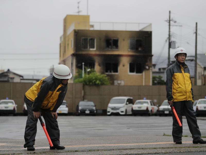 Brandanschlag in Japan - Foto: Jae C. Hong/AP