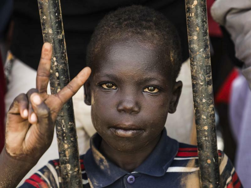 Siegerpose - Foto: Mahmoud Hjaj/AP/dpa