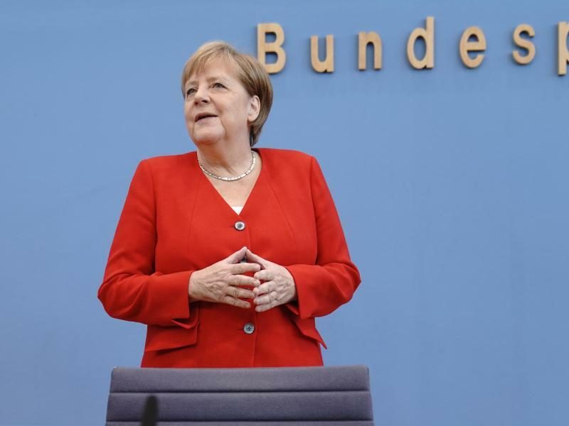 Bundeskanzerlin Angela Merkel - Foto: Michael Kappeler