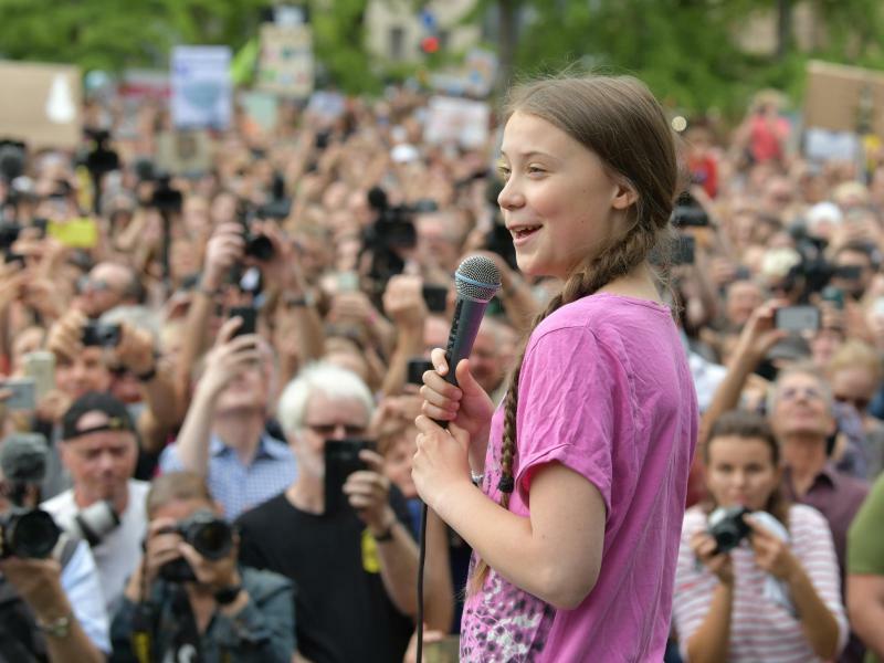 Greta Thunberg - Foto: Paul Zinken