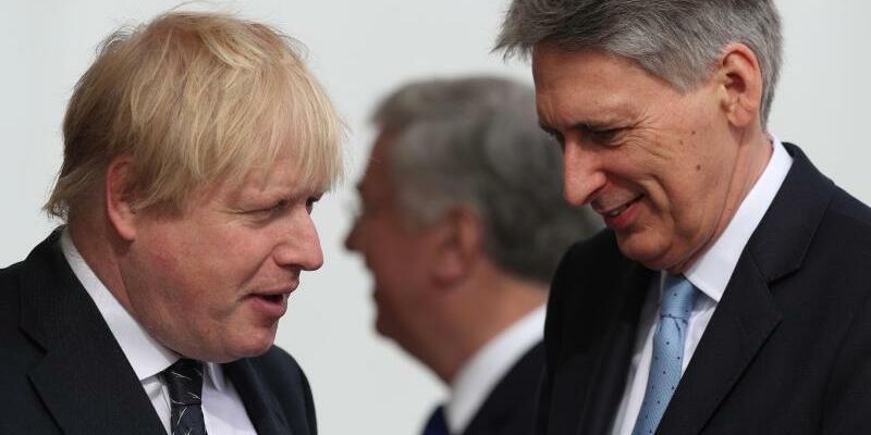 Johnson und Hammond - Foto: Jonathan Brady/PA Wire