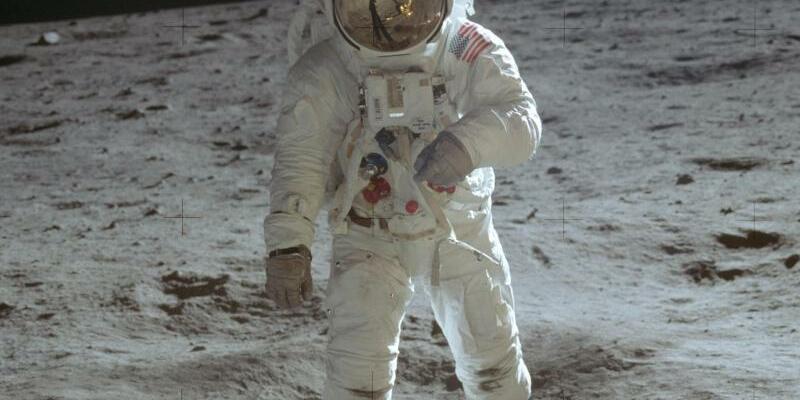 Mondspaziergang - Foto: Neil Armstrong/Nasa/AP