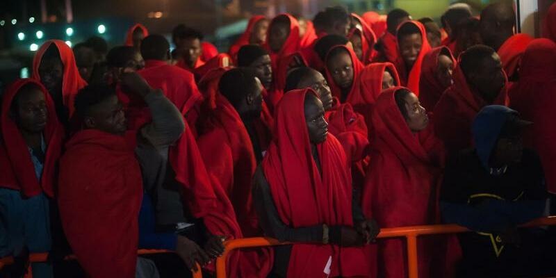 Seenotrettung im Mittelmeer - Foto: Jesus Merida Luque/SOPA Images via ZUMA Wire/Archiv