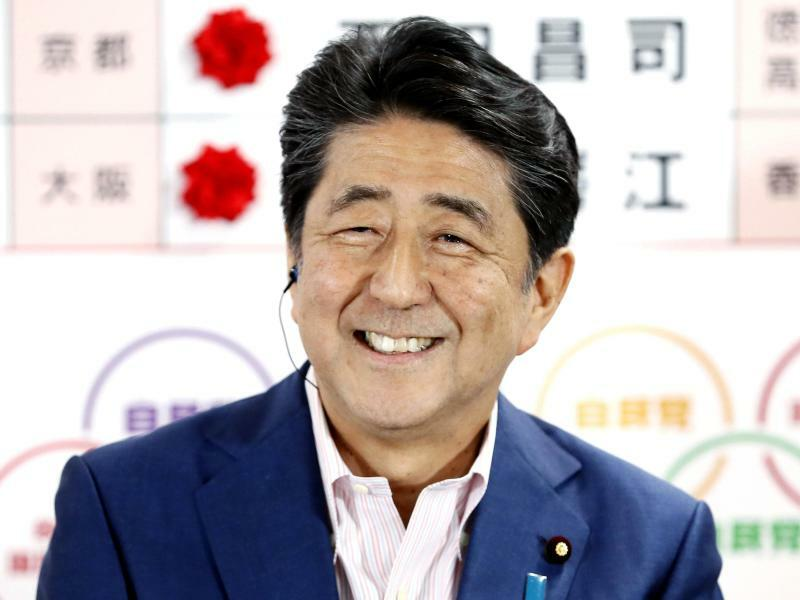 Shinzo Abe - Foto: Yohei Kanazashi/Kyodo News/AP