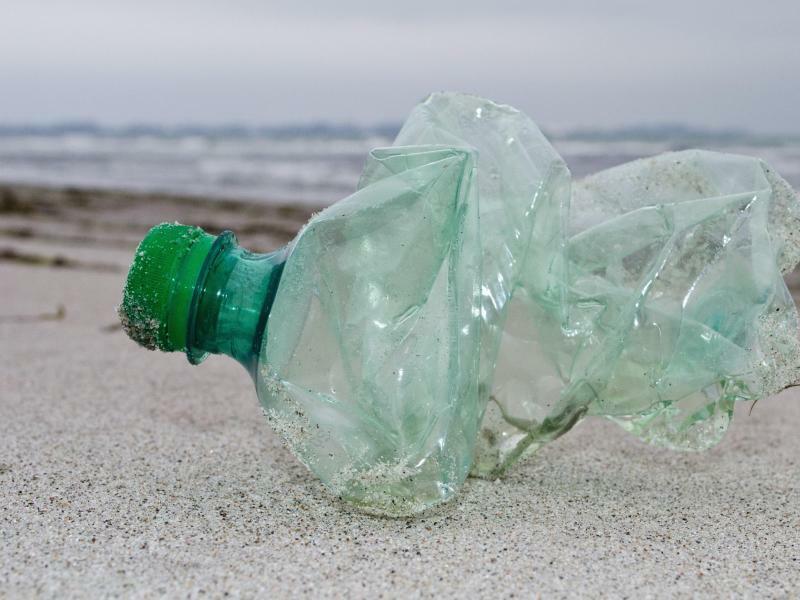 Plastikflasche - Foto: Stefan Sauer