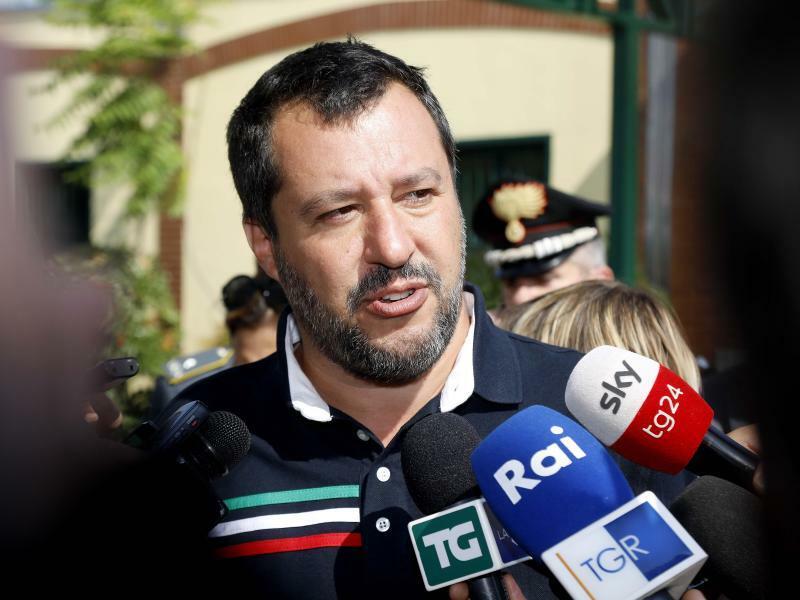 Matteo Salvini - Foto: Mourad Balti Touati/LaPresse/&ZUMA Press