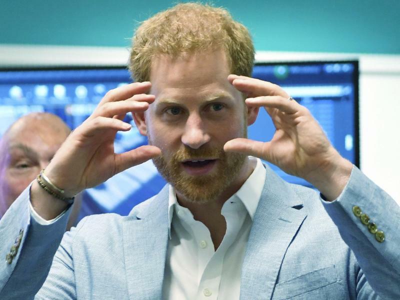 Prinz Harry von Großbritannien - Foto: Jacob King/PA